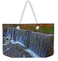 Mill Pond Spillover  Weekender Tote Bag