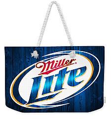 Miller Lite Barn Door Weekender Tote Bag