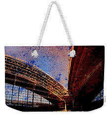 Miller Park 2 W Paint Weekender Tote Bag