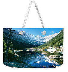 Mills Lake Weekender Tote Bag
