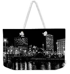 Milwaukee Downtown Third Ward Weekender Tote Bag by Susan  McMenamin