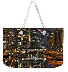 Milwaukee River Weekender Tote Bag