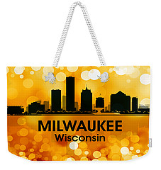 Milwaukee Wi 3 Weekender Tote Bag by Angelina Vick