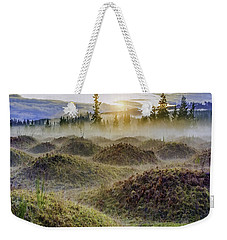 Mima Mounds Mist Weekender Tote Bag