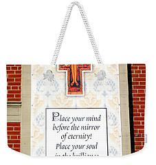 Mind And Soul Weekender Tote Bag