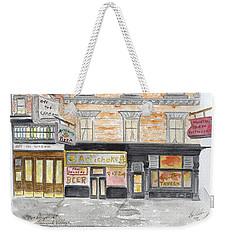 Minetta Tavern  Greenwich Village Weekender Tote Bag