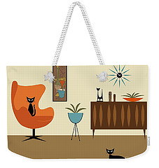 Mini Gravel Art 3 Weekender Tote Bag