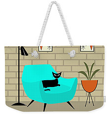 Mini Gravel Art With Brick Wall Weekender Tote Bag