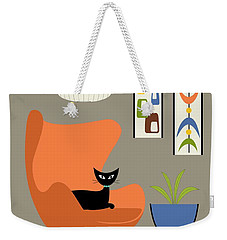 Mini Oblongs And Mobile Weekender Tote Bag