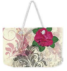 Mini Rose Flourish Weekender Tote Bag