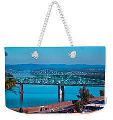 Miniature Bridge Weekender Tote Bag by Jonny D
