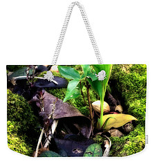 Weekender Tote Bag featuring the photograph Miniature Garden by Jim Thompson