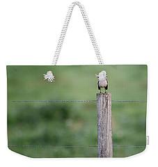 Minimalism Mockingbird Weekender Tote Bag