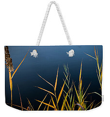 Weekender Tote Bag featuring the photograph Minimalist Me by Glenn DiPaola