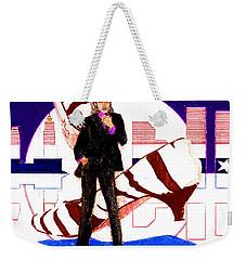 Mink Deville - Le Chat Bleu Weekender Tote Bag