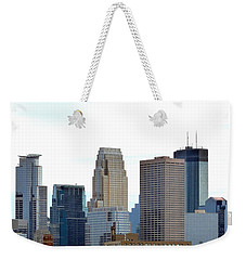 Weekender Tote Bag featuring the photograph Minneapolis by Will Borden