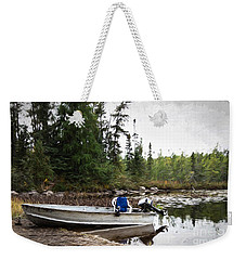 Minnesota Retreat Weekender Tote Bag