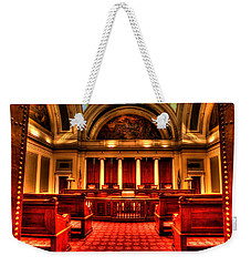 Minnesota Supreme Court Weekender Tote Bag by Amanda Stadther
