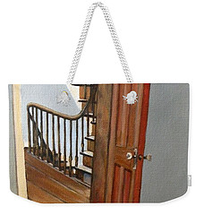 Minnie Crossing The Threshold  Weekender Tote Bag by Eileen Patten Oliver