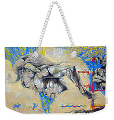 Minotaur Weekender Tote Bag by Derrick Higgins