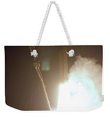 Minotaur Rocket Launch Weekender Tote Bag by Science Source