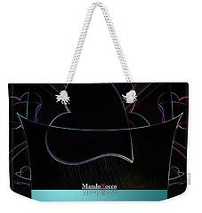 Mint Line Weekender Tote Bag