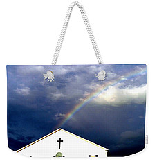 Miracle Birth Today Weekender Tote Bag