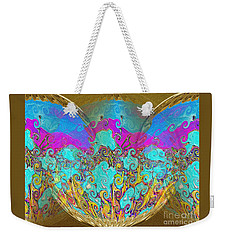 Miracles. Holiday Collection Weekender Tote Bag by Oksana Semenchenko