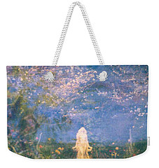 Weekender Tote Bag featuring the photograph Mirage by Judith Morris