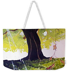 Mirage Of Lives  Weekender Tote Bag by Lazaro Hurtado