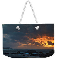 Weekender Tote Bag featuring the photograph Mirandas Islands Galicia Spain by Pablo Avanzini