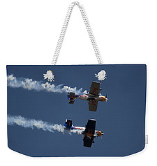 Mirror Flight Weekender Tote Bag