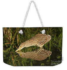 Mirror Mirror On The Wall Who Is The Fairest Heron Of All Weekender Tote Bag