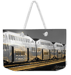 Mirror Of The Winter Sun Weekender Tote Bag