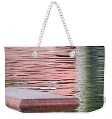 Weekender Tote Bag featuring the photograph Mirror To The Soul by Deb Halloran