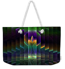 Mirrored Weekender Tote Bag by GJ Blackman