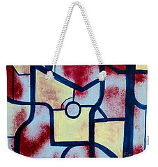 Misconception Weekender Tote Bag by Stefanie Forck