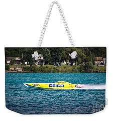 Miss Geico Weekender Tote Bag