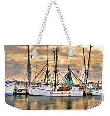 Miss Hale Shrimp Boat Weekender Tote Bag