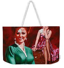 Miss Kitty Weekender Tote Bag