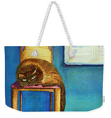 Kitty's Nap Weekender Tote Bag