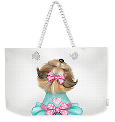 Miss Pretty Weekender Tote Bag