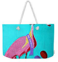 Miss Universe Weekender Tote Bag by Lorna Maza