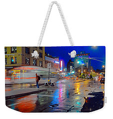 Missed The Bus Weekender Tote Bag