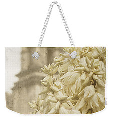 Mission San Jose And Blooming Yucca Weekender Tote Bag