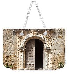 Mission San Jose Chapel Entry Doorway Weekender Tote Bag