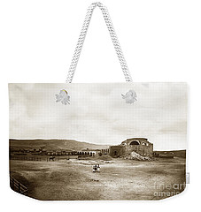 Mission San Juan Capistrano California Circa 1882 By C. E. Watkins Weekender Tote Bag