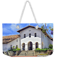Mission San Luis Obispo De Tolosa Weekender Tote Bag by Dominic Piperata