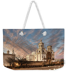 Mission San Xavier Del Bac Weekender Tote Bag by Vivian Christopher