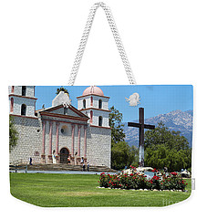 Mission Santa Barbara Weekender Tote Bag